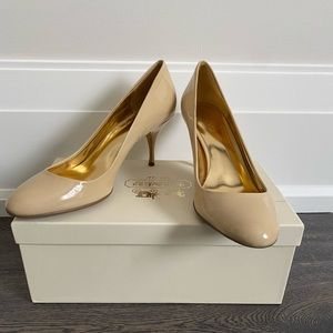 Coach Patent Leather Heels